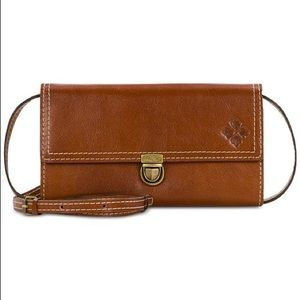 Patricia Nash Alia Crossbody Bag Wallet Leather